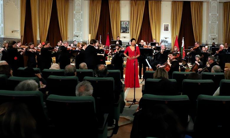 Intitulé «Un voyage à Vienne», le programme d'œuvres pour orchestre, d'opéra  et d'opérette met en scène la chanteuse Mary Elizabeth Williams, invitée d'honneur régulière du WNO. Ph : MAP