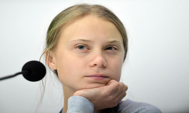 """L'urgence climatique n'est pas """"un problème du futur, c'est quelque chose qui nous impacte déjà"""" Greta Thunberg. Ph: AFP"""