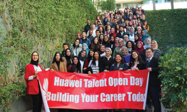 Une première journée portes ouvertes de Huawei en faveur des étudiants