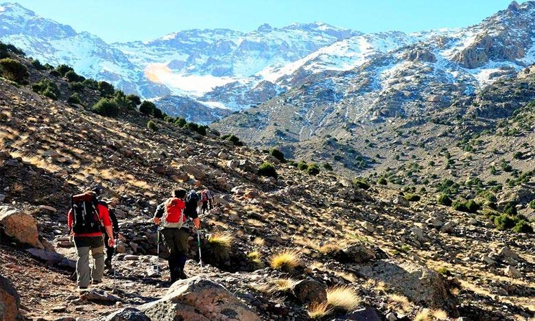 La DMN prévoit pour la journée de ce lundi des chutes de neige sur les Haut et Moyen Atlas à des hauteurs dépassant 1.700 m. Ph : DR