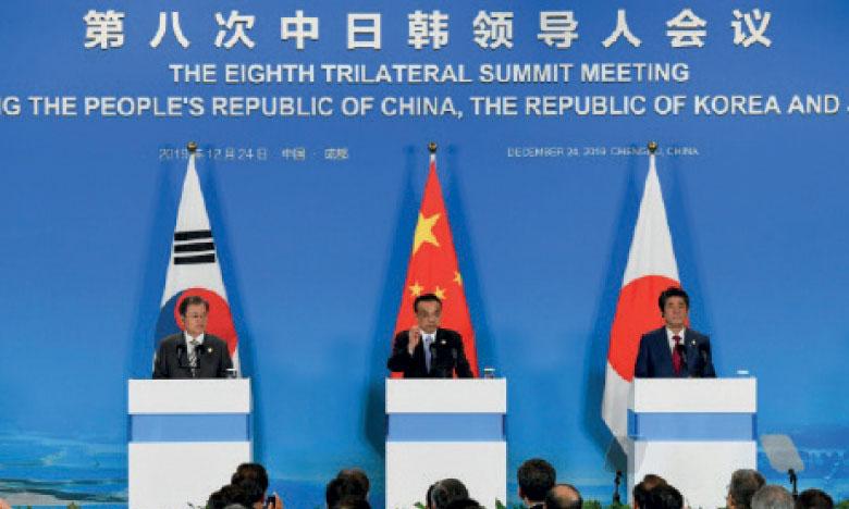 Pékin, Tokyo et Séoul demandent à Pyongyang  de s'abstenir de «provocations»