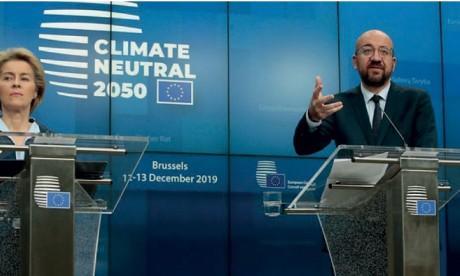 L'UE s'engage pour la neutralité carbone en 2050, sans la Pologne
