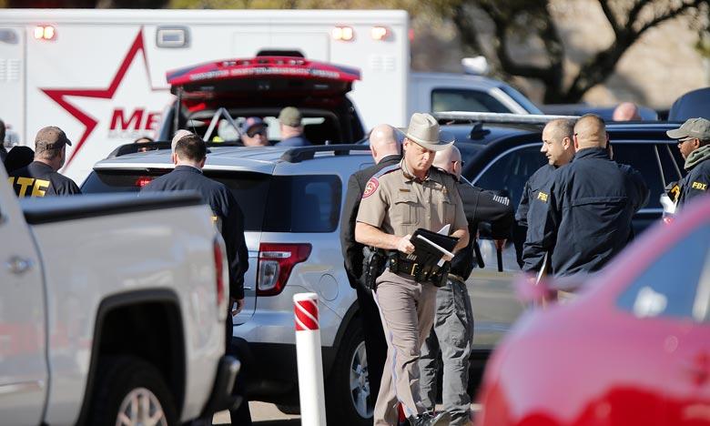Trois personnes dont l'assaillant ont été hospitalisées en urgence, deux personnes sont mortes, dont l'assaillant, et la troisième est toujours dans un état critique. Ph : AFP
