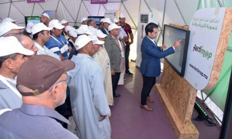 Le dispositif «Al Moutmir Itinérant» fait escale à Sidi Aïssa Ben Slimane