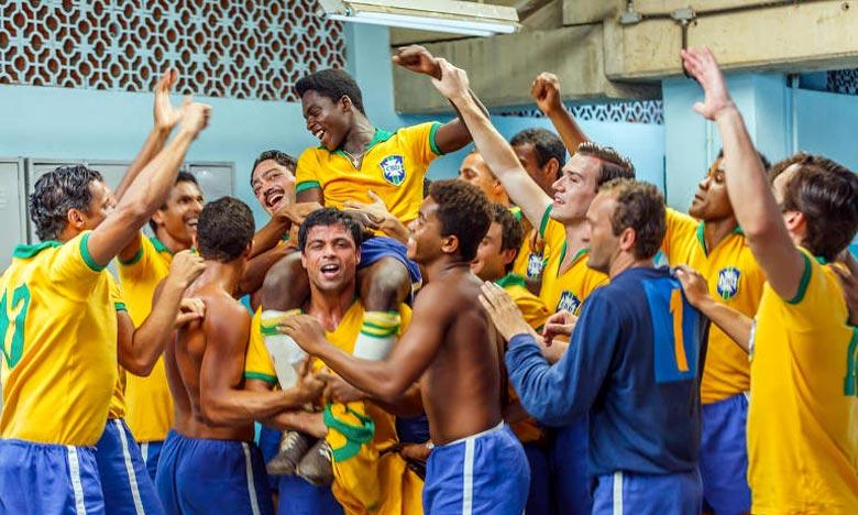 Le maillot du légendaire N.10 brésilien est celui qu'il portait lors d'un match amical Brésil-Yougoslavie organisé en juillet 1971. Ph : DR