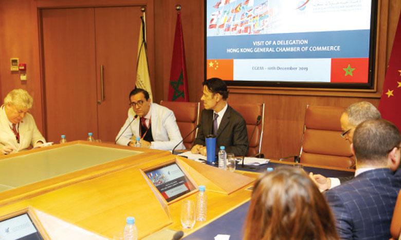 La CGEM et les Hongkongais  sur une alliance de deux ans