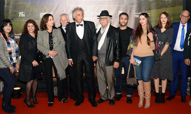 L'équipe du film «Pour la cause».