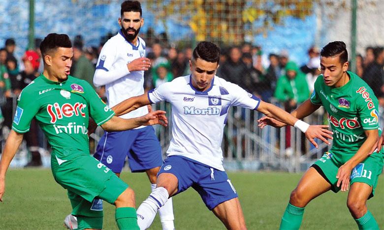 Le Raja perd deux points face au Rapide Oued Zem