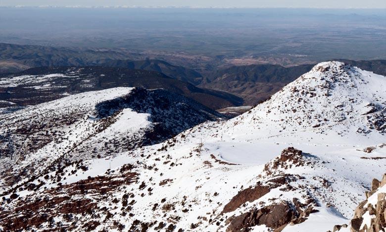 La DMN prévoit pour la journée de ce vendredi, des chutes de neige sur les reliefs du Haut et Moyen Atlas et l'Anti-Atlas et les versants Sud-est dépassant les 1.700 m. Ph : DR