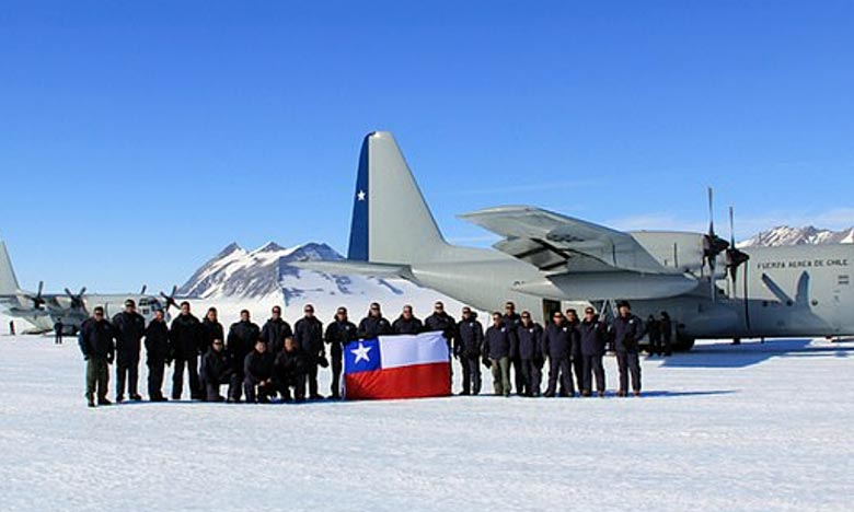 Un avion militaire chilien a disparu des radars après son décollage alors qu'il se dirigeait vers une base en Antarctique. Ph : DR