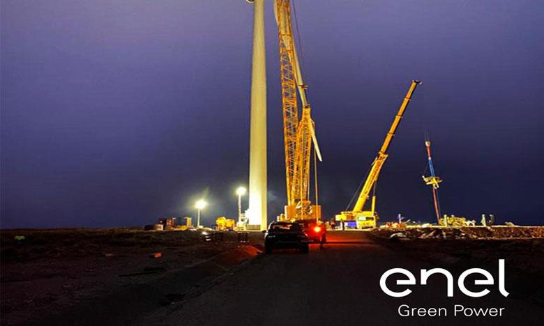 Parc éolien de Midelt : La première turbine installée avec succès
