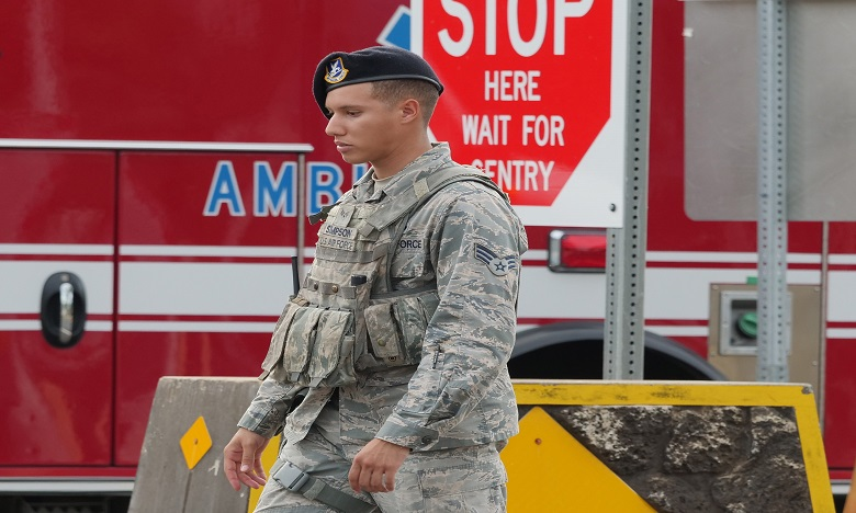 Une attaque similaire a eu lieu mercredi dernier sur le chantier naval de la base militaire de Pearl Harbor. Ph. AFP