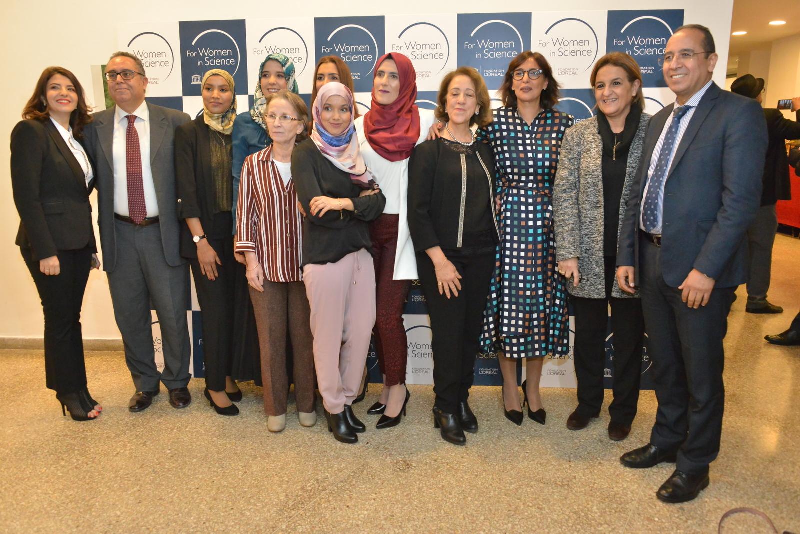 Remise des bourses L'Oréal-UNESCO pour les femmes et la science