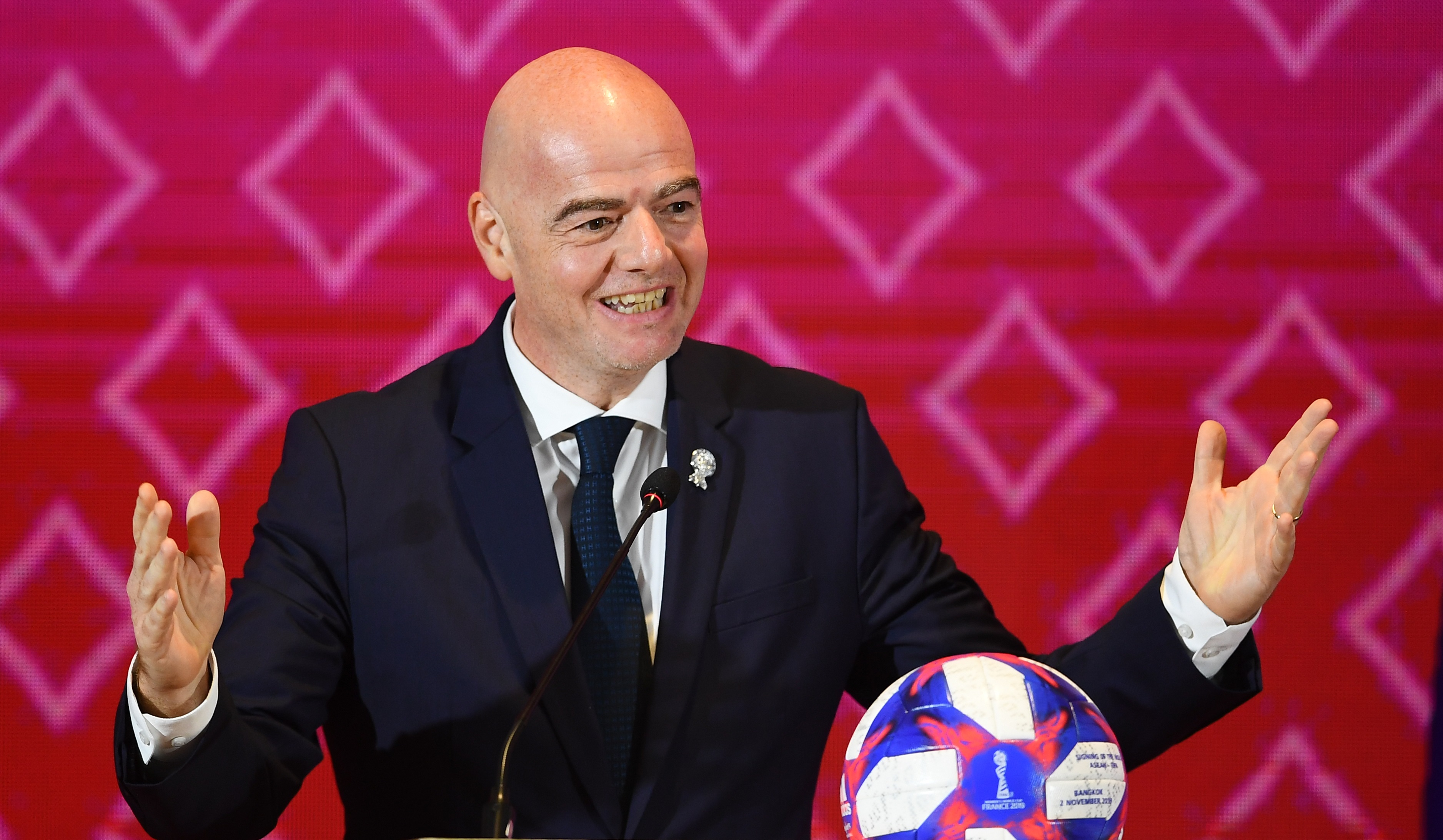 La candidature du patron du football mondial sera proposée en janvier au vote. Ph. AFP/Archives