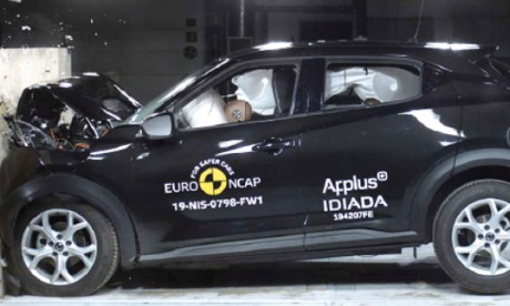 Le nouveau Juke reçoit cinq étoiles aux tests Euro NCAP