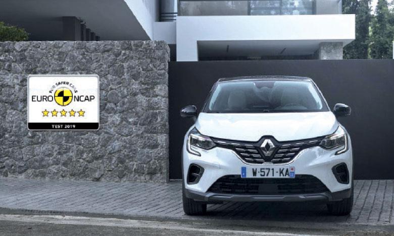 Basée sur la nouvelle plateforme modulaire de l'Alliance CMF-B, le nouveau Captur rejoint la nouvelle Clio au tableau d'honneur des véhicules les plus sûrs.
