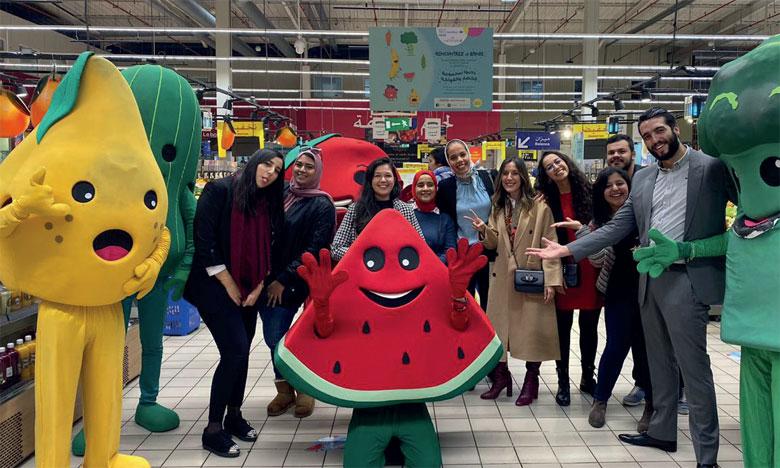 Nestlé encourage les enfants à manger plus  de fruits et légumes