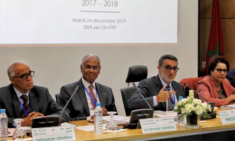 Les comptes du Comité national olympique marocain sont dans le vert