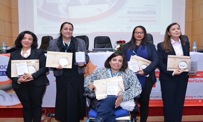 UM5R :  Cinq femmes scientifiques  à l'honneur