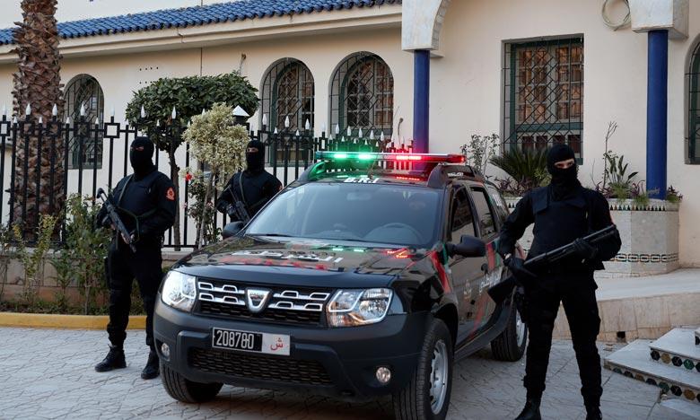 DGSN:  Trois individus en garde à vue à Tan-Tan