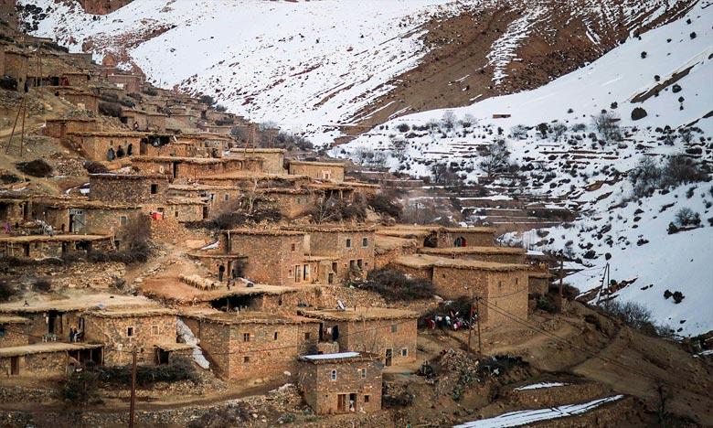 La DMN prévoit pour la journée de ce jeudi,  des chutes de neige dépassant 1.800 m, de niveau orange, concerneront Al Haouz, Midelt, Tinghir et Ouarzazate du jeudi à 20h jusqu'au vendredi. Ph : DR