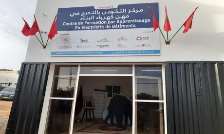 L'Heure Joyeuse :  Ouverture d'un centre de formation par apprentissage à Bouskoura