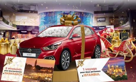 La fin d'année se fête au Morocco Mall