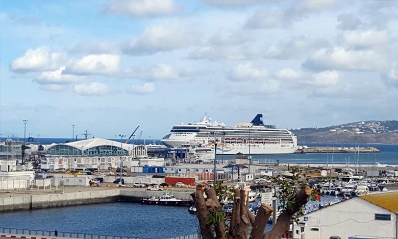 Tourisme de croisière  : Progression du nombre d'escales à Tanger