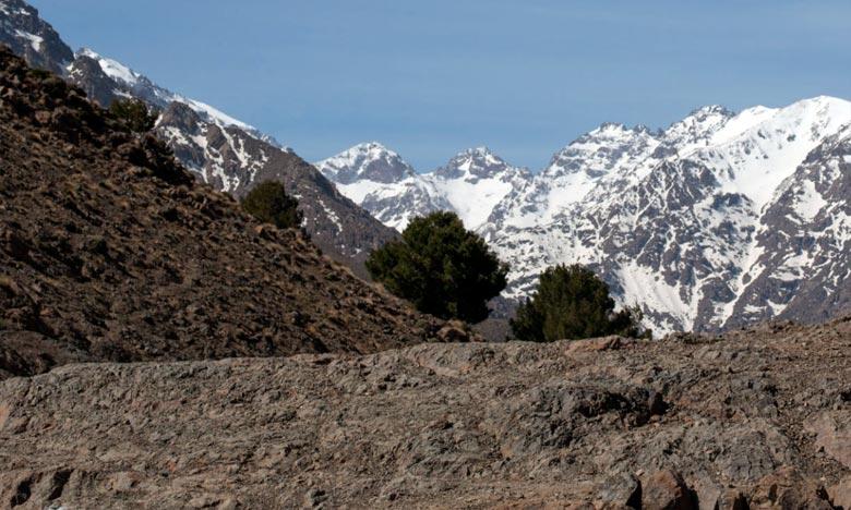La DMN prévoit de la neige sur le Haut et le Moyen Atlas au-delà de 1.700 m, et quelques flocons de neige sur les sommets du Rif et de l'Anti-Atlas. Ph : DR