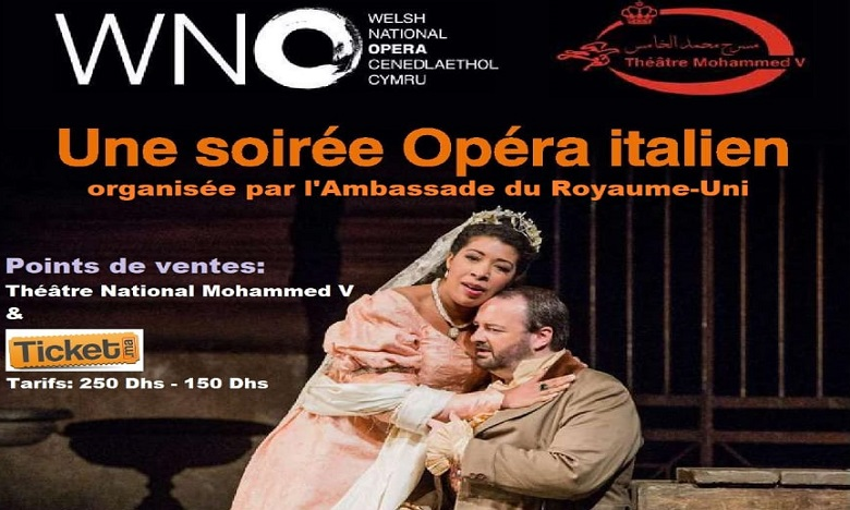 Spectacle inédit du Welsh National Opéra à Rabat