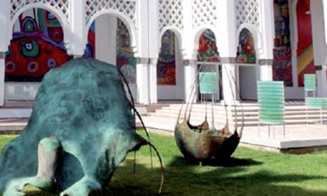 Signature d'une convention entre le ministère  de la Justice et la Fondation nationale des musées