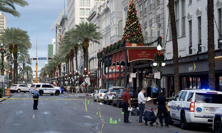 La police de la Nouvelle-Orléans a déclaré qu'il y avait eu 11 victimes dans une fusillade qui a éclaté près du centre touristique du quartier français. Ph : DR
