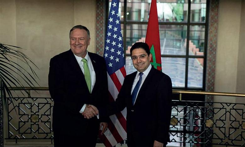 Nasser Bourita : Le Maroc et les États-Unis collaborent étroitement sur de nombreuses questions bilatérales, régionales et internationales