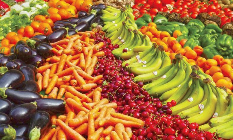 La consommation quotidienne des fruits et légumes varie de moins de 100 grammes dans les pays les moins développés à plus de 450 grammes en Europe. Ph. DR