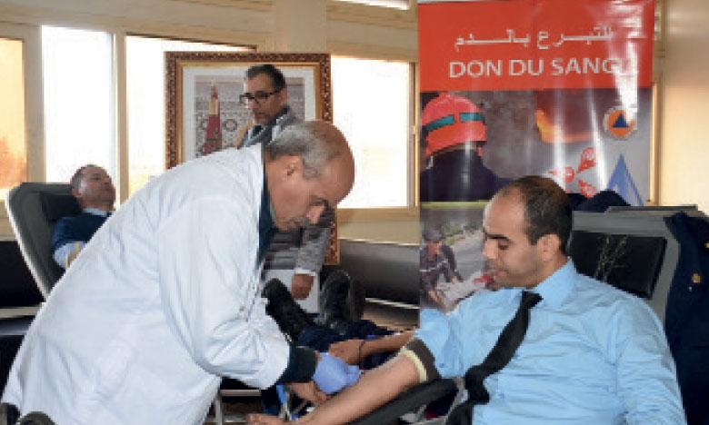 La Direction générale de la Protection civile lance une campagne nationale de don de sang