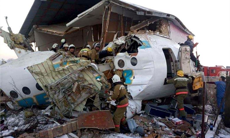 14 morts dans un crash aérien au Kazakhstan