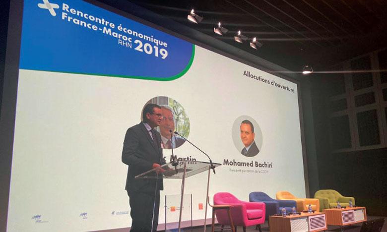 Le Président par intérim de la CGEM :  «Le Maroc et la France doivent prospecter ensemble de nouveaux marchés»