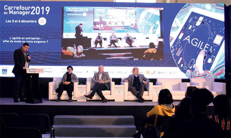 Plusieurs experts en management et en transformation d'entreprises ont répondu présent à la 35e  édition du Carrefour du manager.  Ph. Saouri