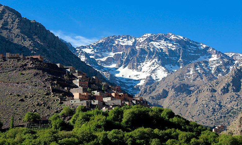 La DMN prévoit pour la journée de ce lundi, de chutes de neige sur le Haut et le Moyen Atlas l'après-midi et la nuit au-delà de 1.600 m. Ph : DR