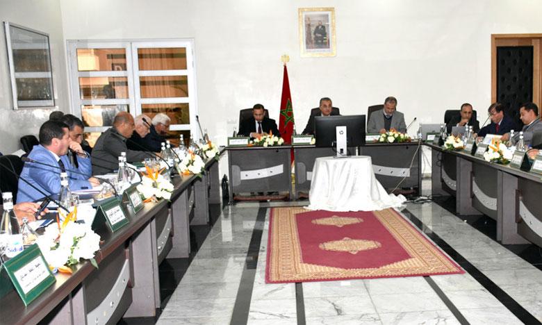 Le conseil d'administration de la RAK s'est réuni sous la présidence du gouverneur de la province,  Fouad M'hamdi.