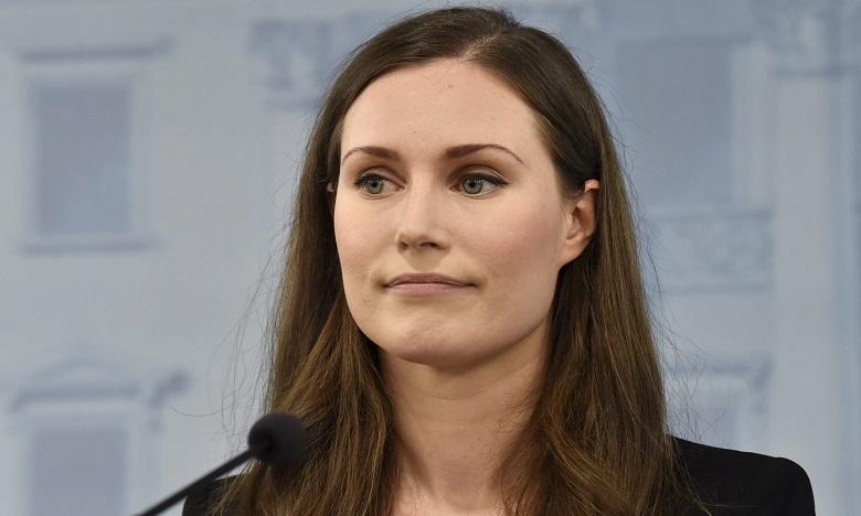 Sanna Marin pourrait être détrônée dans les semaines qui viennent par l'ex-chancellier autrichien Sebastian Kurz, 33 ans. Ph. AFP