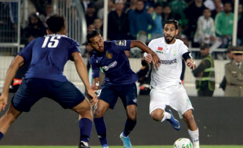 L'Espérance sportive de Tunis fait redescendre le Raja sur terre