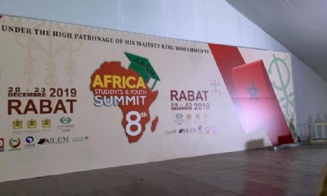 500 étudiants de 52 pays à la 8e édition du Sommet des étudiants et de la jeunesse d'Afrique