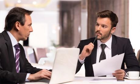 Le manager devrait veiller à rassurer le collaborateur sur la finalité de l'entretien d'évaluation. Ph. Shutterstock