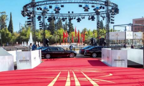BMW, Transporteur officiel pour la quatrième année consécutive