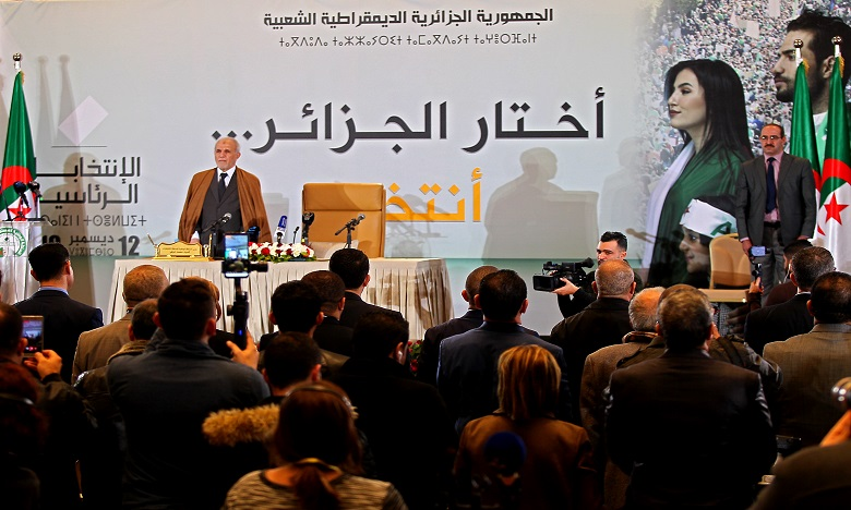 Abdelmadjid Tebboune, ancien ministre puis chef de gouvernement du président Abdelaziz Bouteflika âgé de 74 ans, a été élu dès le premier tour pour lui succéder à la tête de l'Etat algérien, a annoncé vendredi l'Autorité nationale des élections (Anie). Ph : AFP
