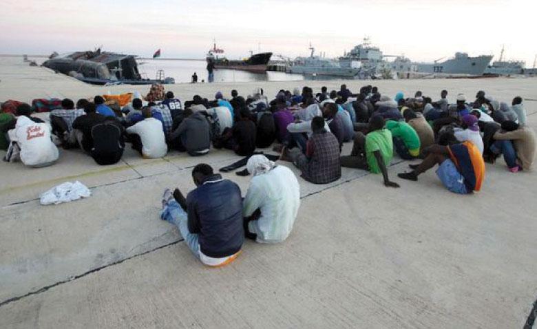 La Libye compte plus de 650.000 immigrants clandestins, dont 6.000 aux centres de détention.