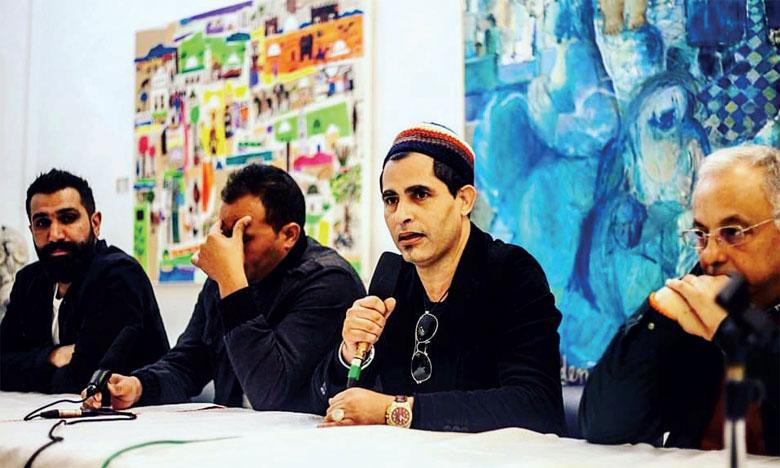 Quatre artistes marocains participent avec leurs œuvres plastiques