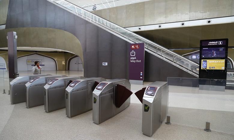 Le Qatar inaugure un réseau de métro lancé pour le Mondial-2022