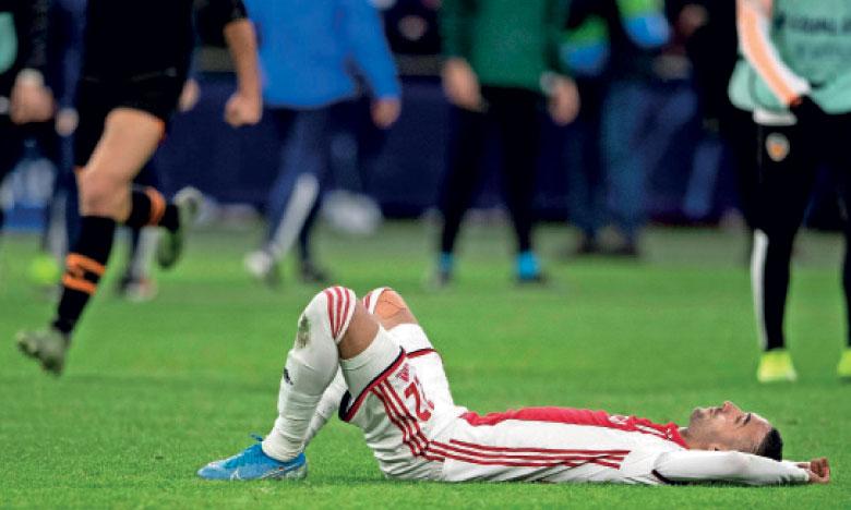 C'est une énorme désillusion pour Hakim Ziyech, dont les heures à Ajax sont, sans doute, à présent comptées.